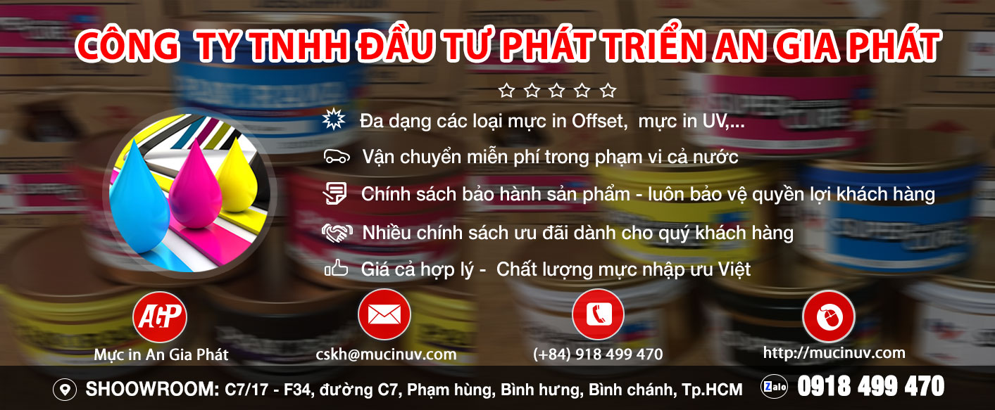 Mực In An Gia Phát