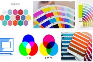 Phân biệt hệ màu RGB, CMYK, PANTONE trong thiết kế